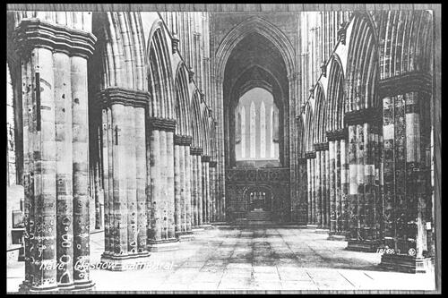 Nave, Glasgow Cathedral.