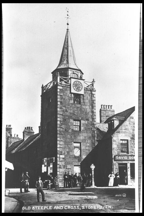 Old Steeple & Cross, Stonehaven.