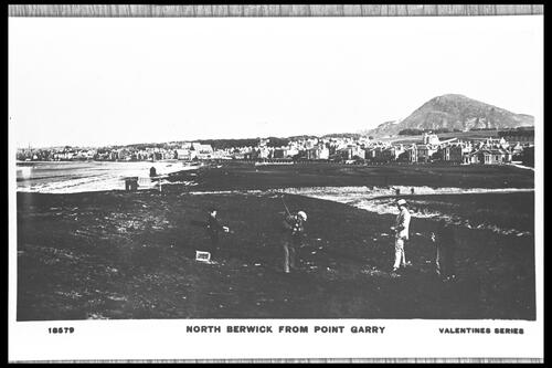 North Berwick from Point Garry.