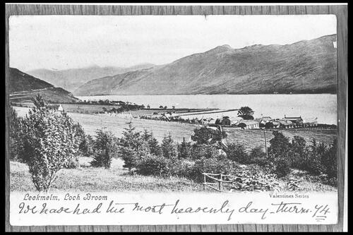 Leckmelm, Loch Broom