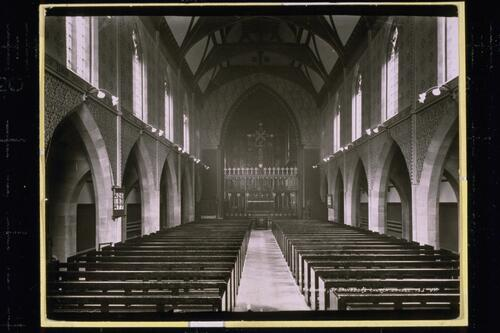 The Nave, St Salvador's.