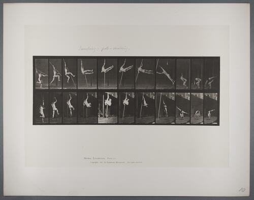 "Plate 164 ""Jumping:Pole-vaulting"""