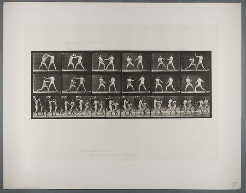 "Plate 329 ""Boxing (shoes)"""