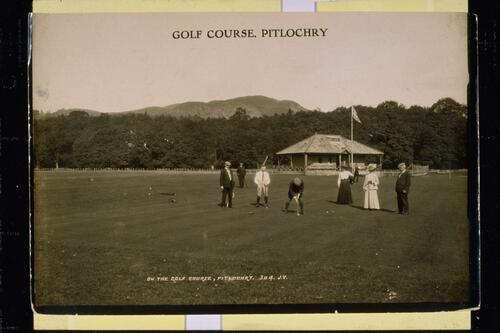 On the Golf Course, Pitlochry.