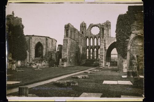 Elgin Cathedral, Nave.