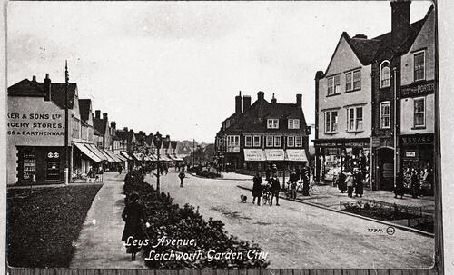Leys Avenue, Letchworth Garden City.
