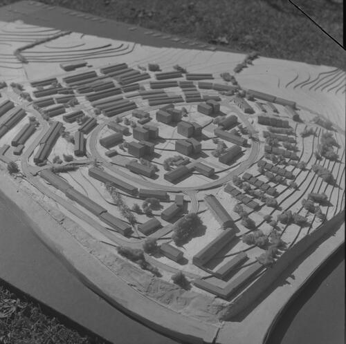 [East Kilbride, architectural model]