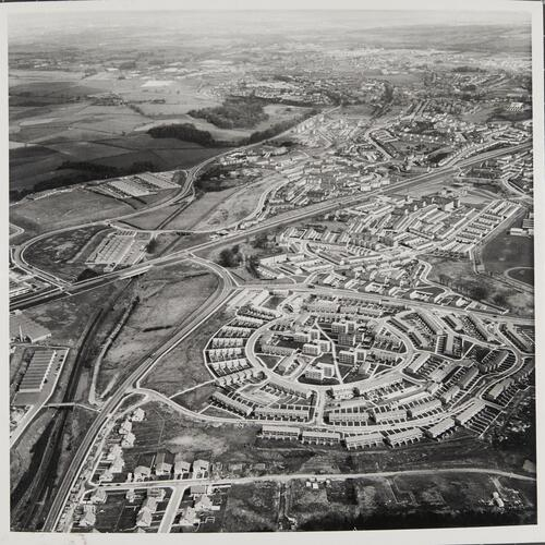 [Aerial view of East Kilbride, Westwood IX]