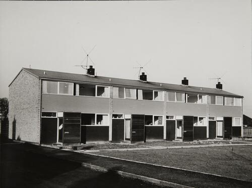 [Joppa housing, row of four houses]