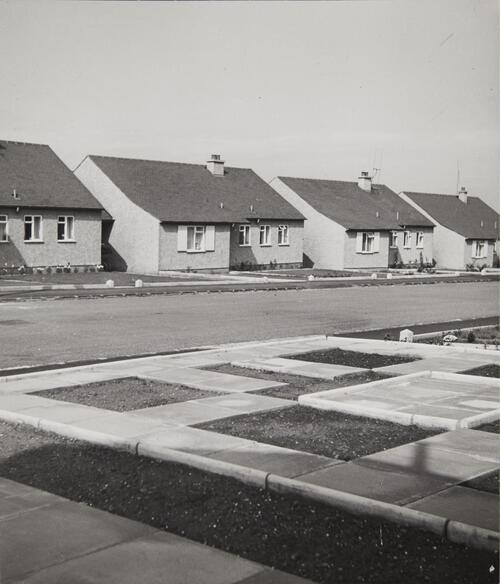 [Housing at Joppa - one storey houses]