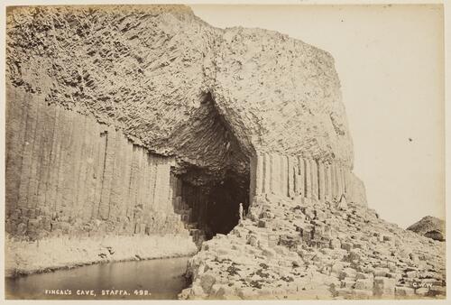 Fingal's Cave. Staffa