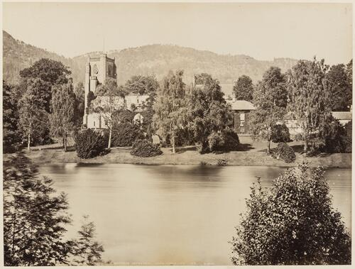 Dunkeld Cathedral from the River