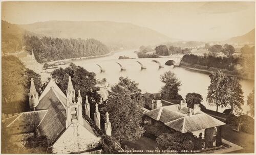 Dunkeld Bridge from the Cathedral