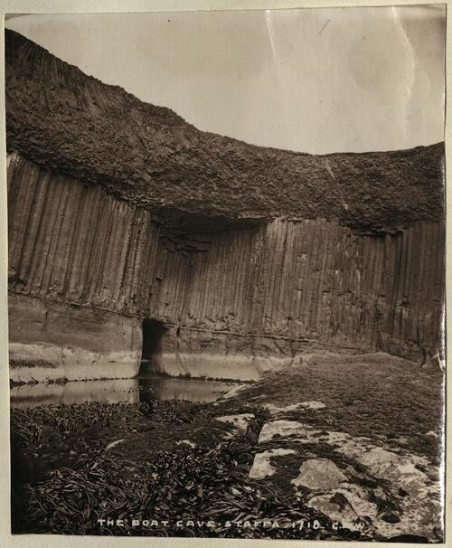 The Boat Cave. Staffa