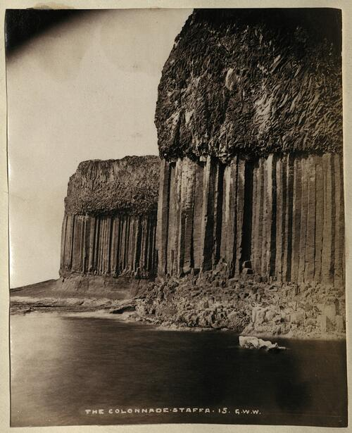 The Colonnade. Staffa