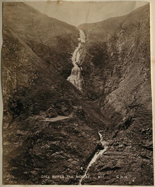 Grey Mare's Tail. Moffat