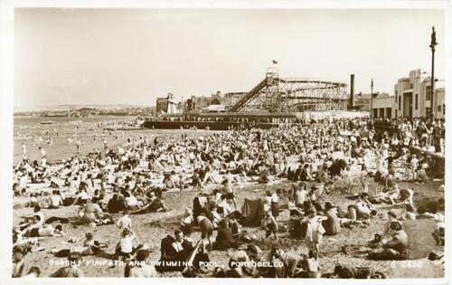 Beach, Funfair and Swimming Pool, Portobello.