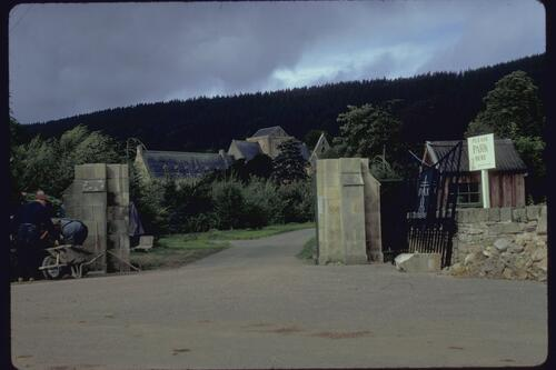 The Gateway, Pluscarden Priory.