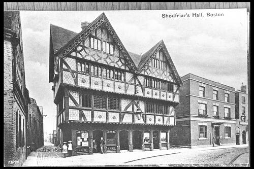 Shodfriar's Hall, Boston.