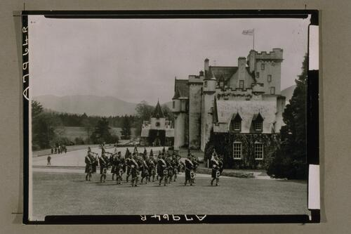 Pipe Band at Blair Castle.