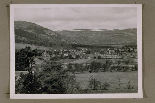 Kingussie from Ruthven.