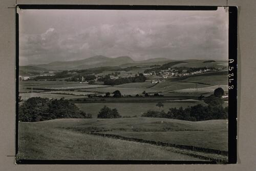 Dalry from Glenlee Road.