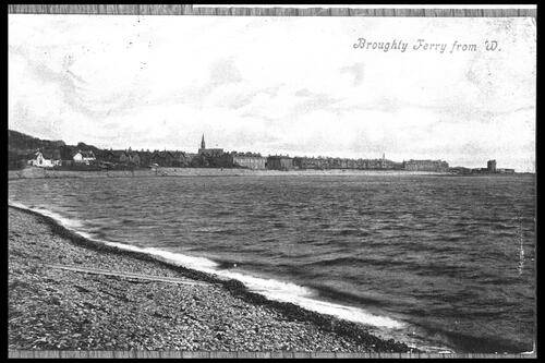 Broughty Ferry from West.
