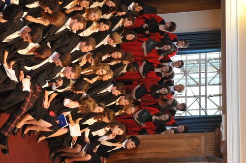 Graduation - Honorary degrees, Thursday afternoon
