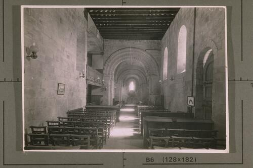 Interior, Dalmeny Church.