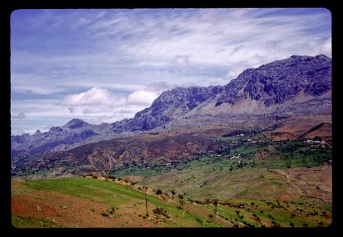 The Rif Mountains between Chouen and Tetuan.