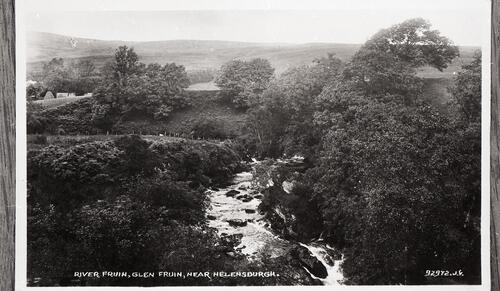 River Fruin, Glen Fruin, near Helensburgh.