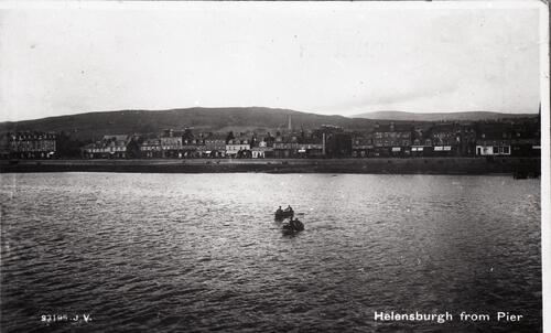 Helensburgh from Pier.