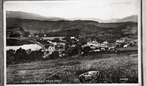 Garelochhead from East.