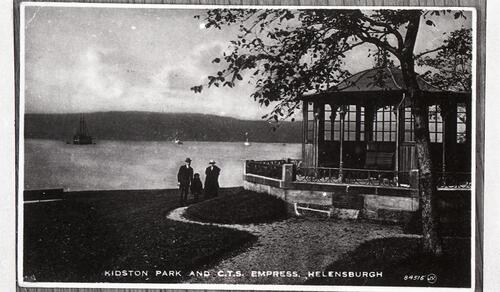 Kidston Park and C.T.S. Empress, Helensburgh.
