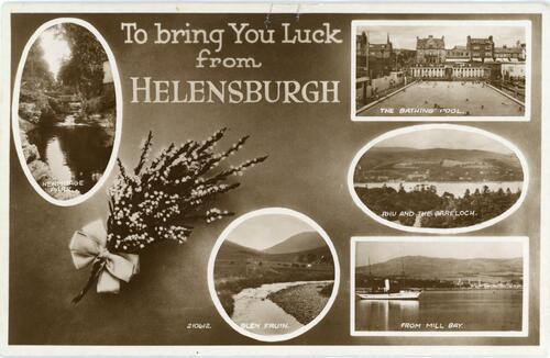 To bring You Luck from Helensburgh.