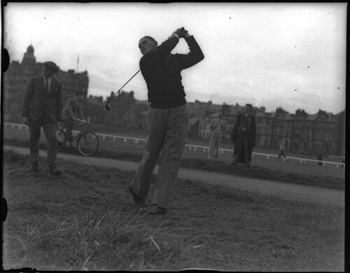 Golfer, the Amateur Golf Championship, The Old Course, St Andrews