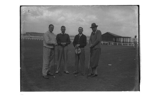 Golfers, the Amateur Golf Championship, The Old Course, St Andrews