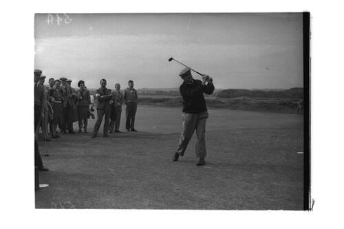 R Whitcombe, the Old Course, St Andrews.