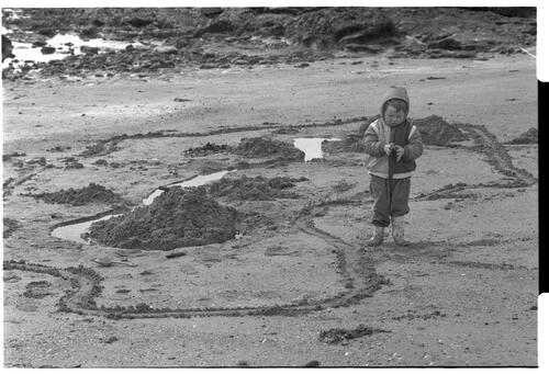 [On the Beach, Pittenweem]