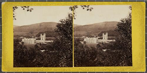 Balmoral Castle from the south-east