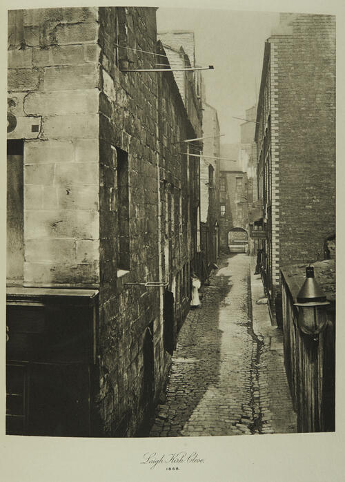 Laigh Kirk Close [Glasgow].