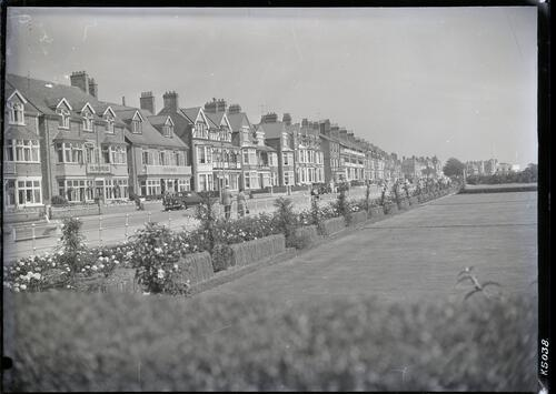 Rose Garden and South Parade, Skegness.
