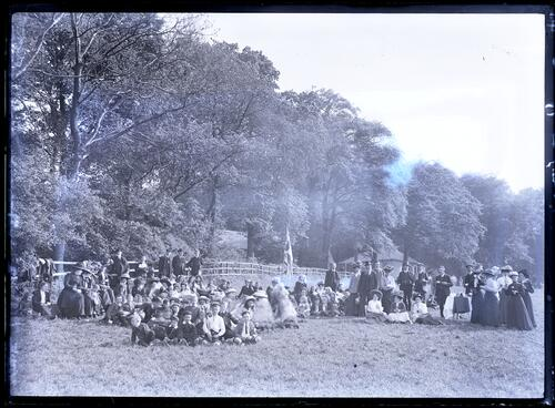 Sunday School picnic, Ratho.