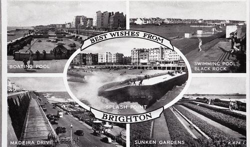 Best Wishes from, Brighton.