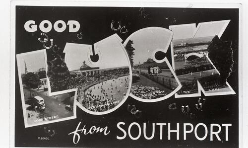 Good Luck from Southport.