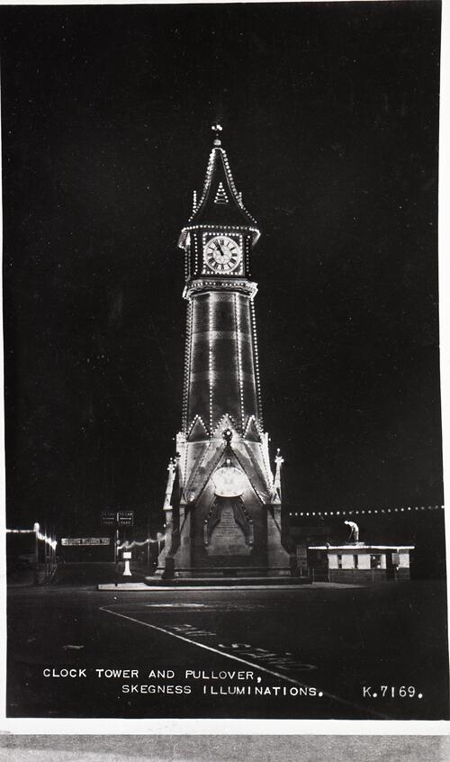 Clock Tower and Pullover, Skegness Illuminations.