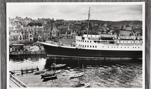 """St Ninian"" in Harbour, Lerwick."