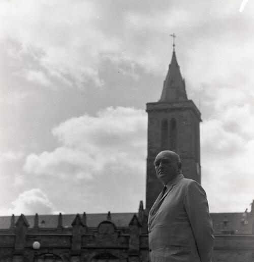 Mr T. Bruce Mitford, Ancient History in United College Quadrangle, Universty of St Andrews, St Andrews.