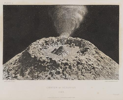 The Crater of Vesuvius, 1865.