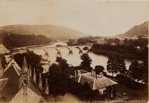 Dunkeld, View from Cathedral tower